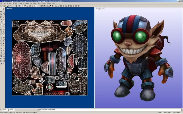 Ultimate Unwrap 3D - UV Mapping Software